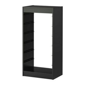 IKEA TROFAST Rangka Lemari/ Rak 46x30x94 cm, Hitam