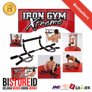 Iron Gym Extreme / Chin Up Bar / Pull up Bar / Multigrip Door Gym Bar