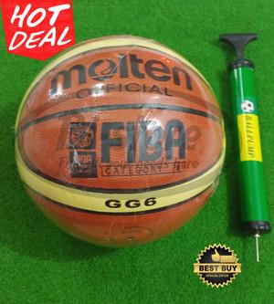 Bola Basket Molten GG6 Replika + pompa Kecil