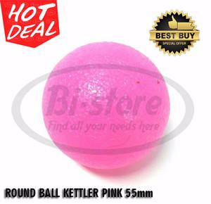 ORIGINAL ! KETTLER ROUND BALL GEL PINK 55mm