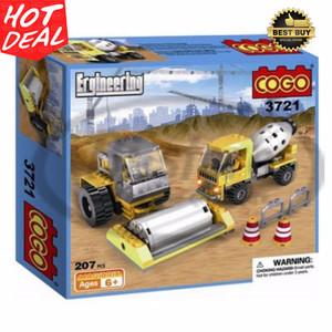 Mainan Brick Block lego Cogo Engineering 207 pcs #3721