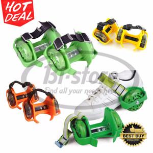 Flash Flashing Roller Skate Khusus Kuning / Hijau / Orange