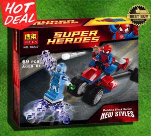 Mainan edukatif Brick Block lego Bela Super heroes 69 pcs #10237
