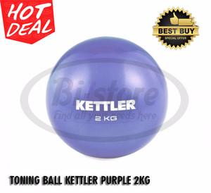 ORIGINAL ! TONING BALL KETTLER PURPLE 2KG