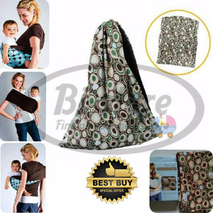 Stylish Baby Pouch Carrier Kain Gendong Bayi CH-219