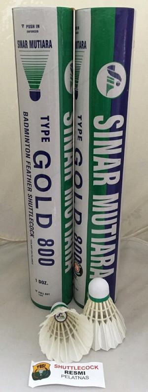 Kok Sinar Mutiara Gold / Sinar Mutiara Gold 800 Shuttlecock