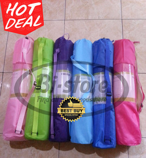 Matras Yoga Matt Warna Cantik Tebal 8mm