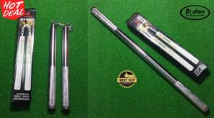Nunchaku double stick Besi Silver Chrome bisa jadi Baton