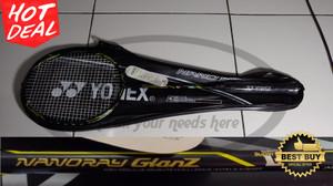 Raket Yonex Senar Nanoray Glanz Black