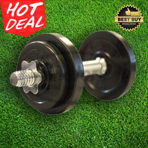 Rubberized Dumbell / Dumbel Set 10Kg Karet KETTLER Original