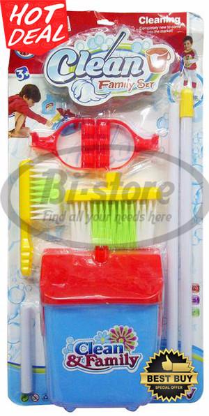 Mainan edukasi anak Clean Family Set CF9928