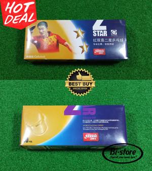 Bola ping pong DHS original 2 star isi 10 pcs