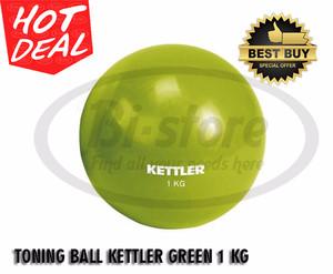 ORIGINAL ! TONING BALL KETTLER GREEN 1KG