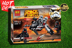 Mainan edukatif Brick Block lego Bela Space Fights 95 pcs #10366