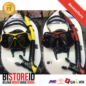 Mask and Snorkel Speeds PU Original Silicone Empuk