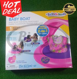 Baby Boat 2 in 1 Swim School Ban Renang Belajar Anak