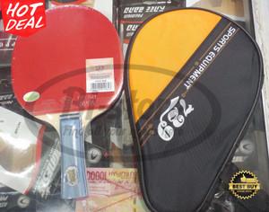 Bat Pingpong Tenis Meja 729 with Full Cover
