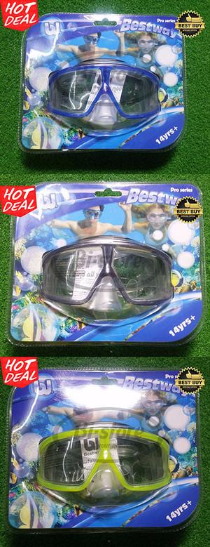 Kacamata Dual Lens Dive Diving Mask 14+ yrs Bestway #22006 Original