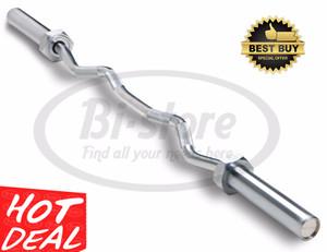 KETTLER Solid Threaded Curl Bar 30mm ORIGINAL