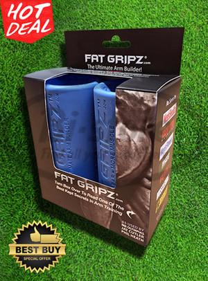 Fat Gripz / Fitness Barbel Dumbell Benchpress Rubber Grip Pad ORIGINAL