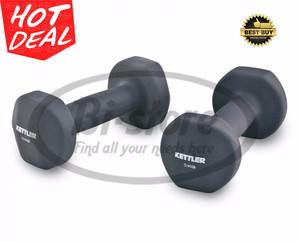 Dumbell / Barbel / Neoprene 10Kg Pair (5kg Each) Kettler Original