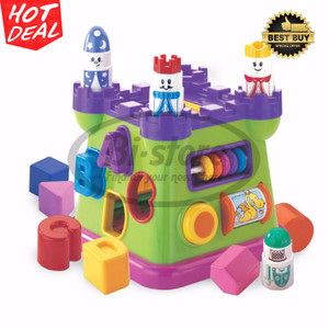 B Kids 63166 Activity Shape Sorting Castle