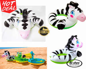 Ban Pelampung / Swim Ring Intex Model Zebra