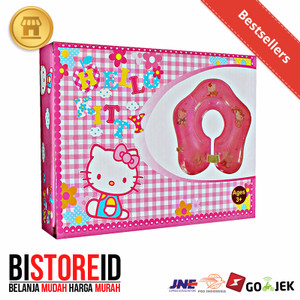 Neck Ring Ban Leher Bayi anak Karakter Hello Kitty