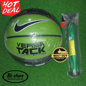 Bola Basket Nike Versa Tack / True Grip Green Mantap + Pompa Murah