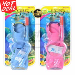 Mask dan Snorkeling Karet Set Anak Bestway 3-6yr Original