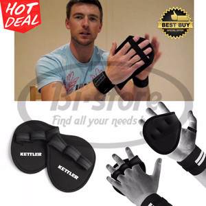 Kettler Kettfit Weight Lifting Grip Pads