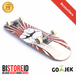 Silverfox Skatebord Red Hands 100% Maple