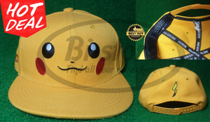 Snapback Replika Import Kids Pikachu
