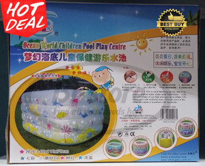 Kolam Karet Kotak Baby Spa 5 Square Ring Pool ABC ZH2550