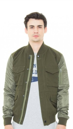 Jaket 16DS Pollack Army Green Jacket