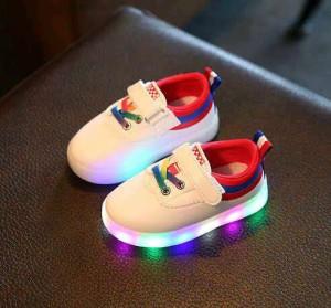 Restock! Sepatu Led anak import / Led shoes