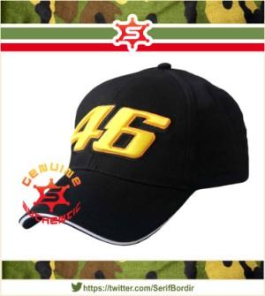 Topi Baseball Raphel bordir Topi VR46 The Doctor forTopi Baseball warn