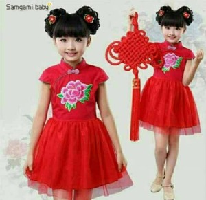 samgami dress anak 3-5th