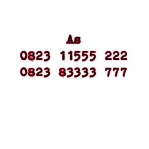 Nomor Cantik As Seri Double AAA 0823 11555 222 0823 83333 777 #Ny