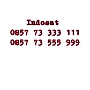 Nomor Cantik Im3 Seri double AAA 0857 73333 111 0857 73 555 999 #Ny