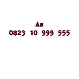 Nomor Cantik As Seri Double AAA 0823 10 999 555 #Ny