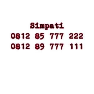 Nomor Cantik Simpati Seri double AAA 0812 85777 222 0812 89777 111 #Ny