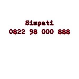 Nomor Cantik Simpati Seri double AAA 0822 98 000 888 #NY