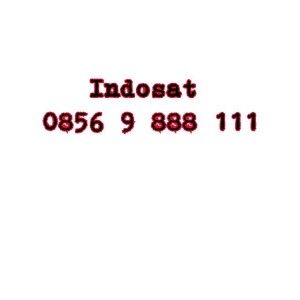 Nomor Cantik Indosat Im3 Mentari Seri Double AAA 0856 9 888 111 #Ny
