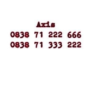 Nomor Cantik Axis Seri Double AAA 0838 71 222 666 0838 71 333 222 #Ny