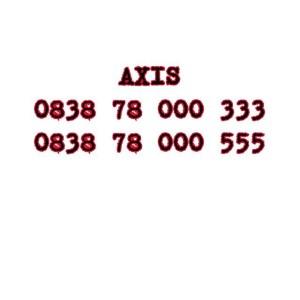 Nomor Cantik Axis Seri Double AAA 0838 78 000 333 0838 78 000 555 #Ny