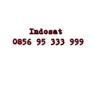 Nomor Cantik Indosat Im3 Seri double AAA 0856 95 333 999 #Ny