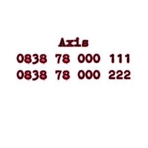 Nomor Cantik Axis Seri Double AAA 0838 78 000 111 0838 78 000 222 #Ny