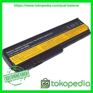 Baterai LENOVO Thinkpad X200, X200s, X201, X201i (6 CELL)