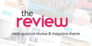 The Review v4.32 - Multi-Purpose Review & Magazine Theme